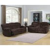 AC Pacific Dennis Sofa and Loveseat Set
