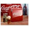 American Retro 2.25 Qt. Classic Coca-Cola Picnic Cooler