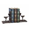 Creative Co-Op Haven Cast Iron with Bird Book Ends (Set of 2)
