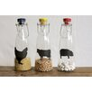 Creative Co-Op Urban Homestead 3 Piece Glass Bottle Set