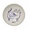 Creative Co-Op Casual Country Round Cat Dish