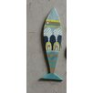 Creative Co-Op Waterside Recycled Wood Fish Wall Décor