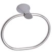 Ultra Faucets Contemporary Wall Mounted Towel Ring