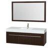 "Wyndham Collection Axa 60"" Single Bathroom Vanity"