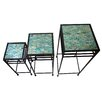 Firefly Home Collection 3 Piece Square Plant Stand Set