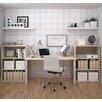 Bestar I3 3 Piece Standard Desk Office Suite