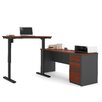 Bestar Prestige + Learning Desk with Height Adjustable Table