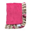 Trend Lab Waverly® Jazzberry Ruffle Trimmed Receiving Blanket