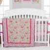 Trend Lab Waverly® Jazzberry 3 Piece Crib Bedding Set
