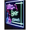 Creative Motion Fluorescent Lighted Board, 1.4' x 2'