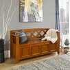 Simpli Home Amherst Wood Storage Entryway Bench