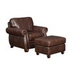 At Home Designs Monterey Arm Chair and Ottoman