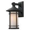Z-Lite Woodland 1 Light Wall Lantern