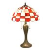 "Imperial MLB 24"" H Table Lamp with Bowl Shade"