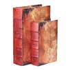 Quickway Imports Vintage Book Box (Set of 2)