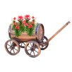 Quickway Imports Novelty Wheelbarrow Planter