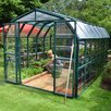 Rion Greenhouses Grand Gardener 2 Clear 9 Ft. W x 17 Ft. D Polycarbonate Greenhouse
