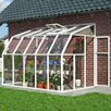 Rion Greenhouses Sunroom 2 6.5 Ft. W x 10.5 Ft. D Polycarbonate Greenhouse