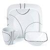 Corelle Simple Lines 16 Piece Dinnerware Set