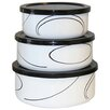 Corelle Simple Lines 6 Piece Food Storage Set
