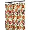 Watershed Prints Botanical Garden Shower Curtain