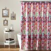 Special Edition by Lush Decor Jaipur Ikat Polyester Shower Curtain