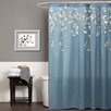 Special Edition by Lush Decor Flower Drop Shower Curtain