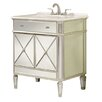 "Elegant Lighting Camille 32"" Bathroom Vanity Chest & Sink Set"