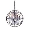Elegant Lighting Geneva 6 Light Foyer Pendant