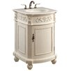"Elegant Lighting 24"" 1 Door Cabinet Vanity Base"