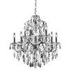 Elegant Lighting St. Francis 12 Light Crystal Chandelier