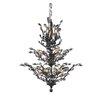 Elegant Lighting Orchid 13 Light Crystal Chandelier