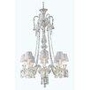 Elegant Lighting Majestic 8 Light Crystal Chandelier