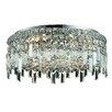 Elegant Lighting Maxim 360W 6 Light Semi Flush Mount
