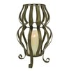 Boston Warehouse Trading Corp Mystique Wire Hourglass Lantern
