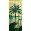 Bamboo54 Halcyon Palm Tree Single Curtain Panel