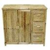 Bamboo54 Bamboo Storage Shelf with 3 Drawers