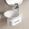 Caracalla Ceramica II Vessel Bathroom Sink with Thin Wall