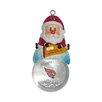 Topperscot NFL Santa Snow Globe Ornament