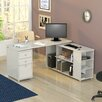 Inval L Shaped Computer Work Station Desk