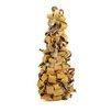 Vickerman Co. Rustic Earth Tone Tree Bark Inspired Table Top Christmas Cone Tree