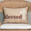 Glory Haus Blessed Cross Throw Pillow
