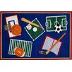 Fun Rugs Fun Time Sports A Rama Kids Rug