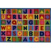 Fun Rugs Fun Time Numbers and Letters Kids Rug