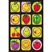 Fun Rugs Smiley World Fruitti Area Rug