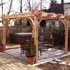 Outdoor Living Today Breeze 8 Ft. W x 10 Ft. D Cedar Pergola