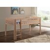 Whistler Junior Twin Loft Bed with Built-In Ladder