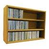 Wood Shed Multimedia Storage Rack