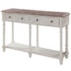 Gail's Accents Cottage Open Console Table