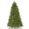 National Tree Co. 7.5' Green Ridgewood Spruce Artificial Christmas Tree with 750 Clear Lights and Stand
